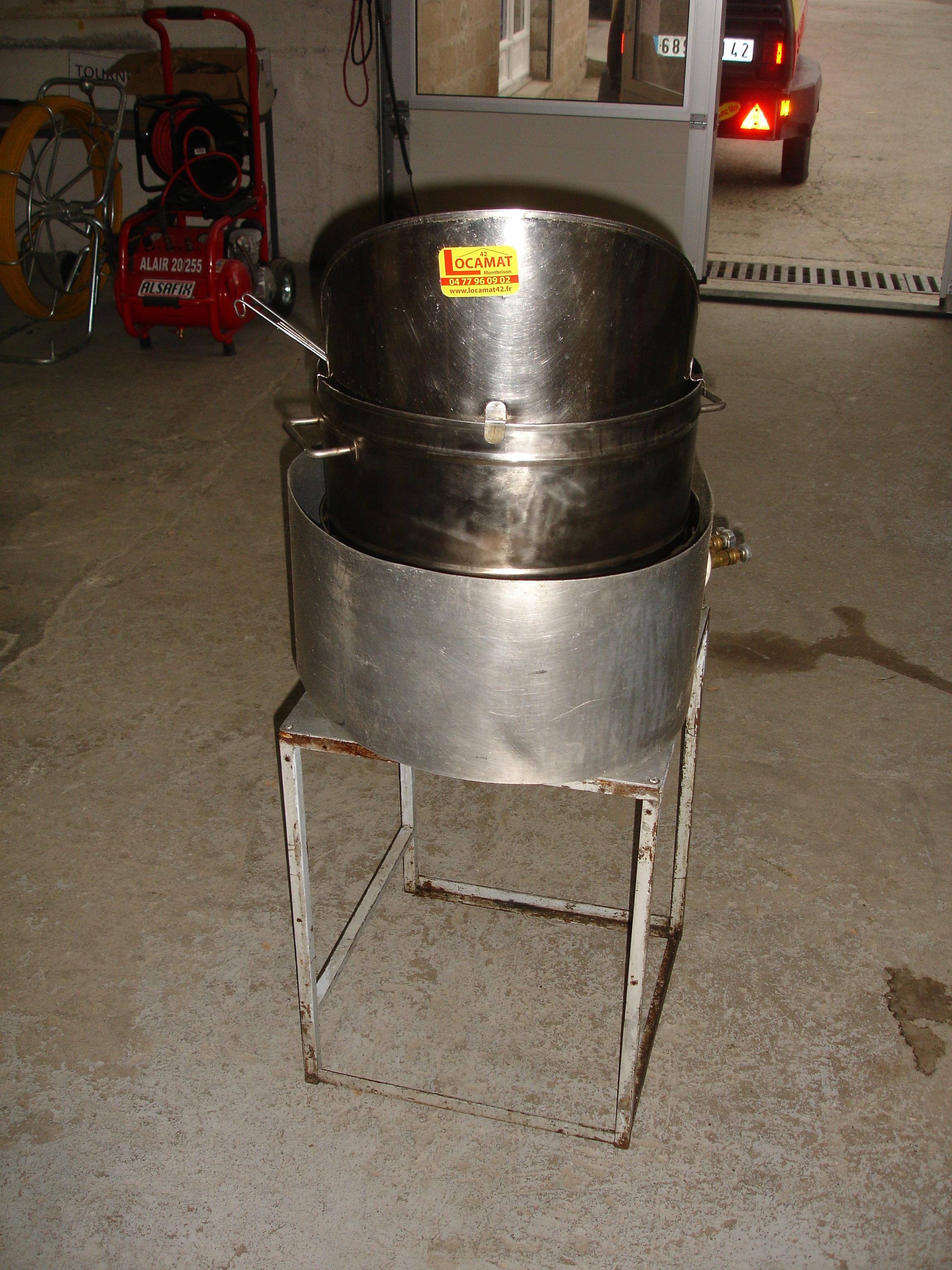 Friteuse gaz - Comment degraisser une friteuse ...