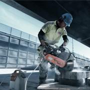 découpeuse thermique 125mm tronconeuse beton husqvarna k760  350mm