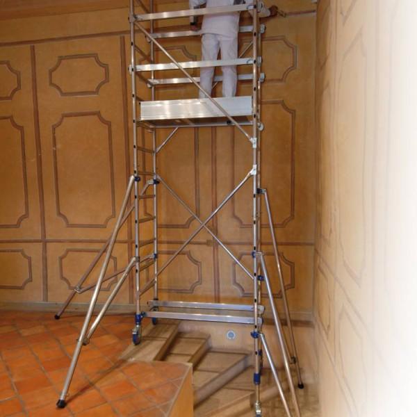 chafaudage aluminium sp cial escalier m. Black Bedroom Furniture Sets. Home Design Ideas