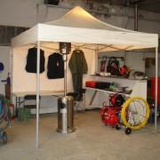 eclairage pour barnum tente stand chapiteau  basse cosomation location montbrison loire (2)