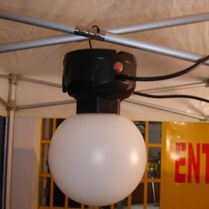eclairage pour barnum tente stand chapiteau  basse cosomation location montbrison loire