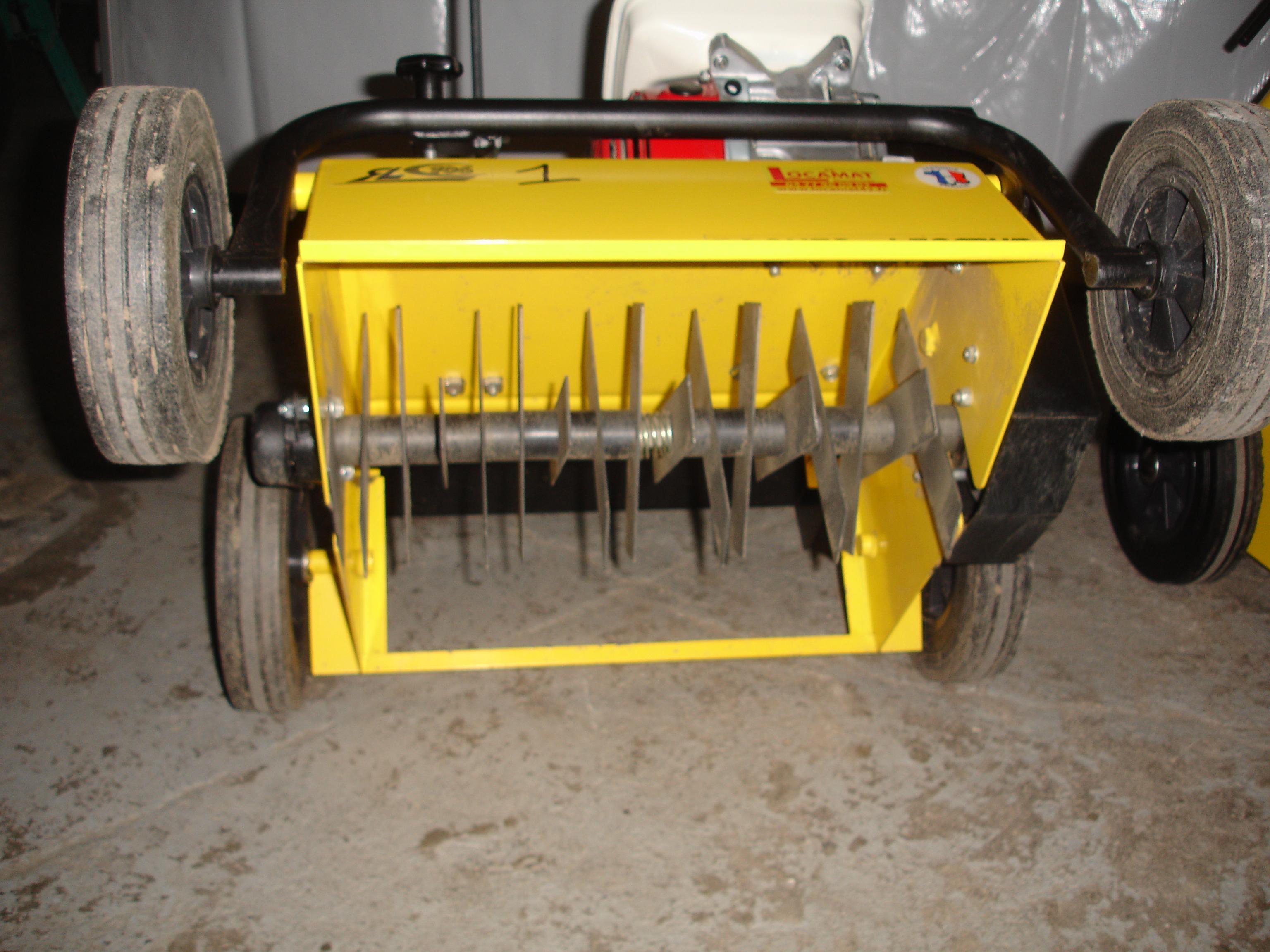Scarificateur a rateur de pelouse - Scarificateur pour pelouse ...