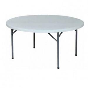 table ronde  diametre 150 152 cm 8 personnes location montbrison andrezieux feurs boen (2)